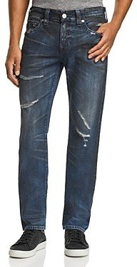 True Religion Rocco Skinny Fit Jeans in Midnight Storm