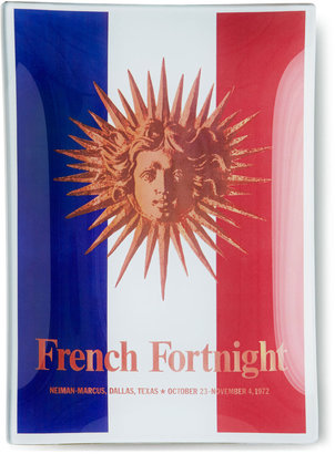"John Derian Neiman Marcus French Fortnight Tray, 6"" x 9"""