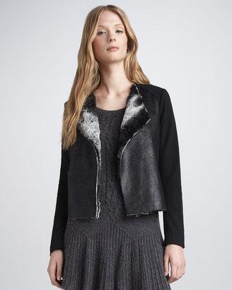 Ella Moss Cooper Faux-Shearling Jacket
