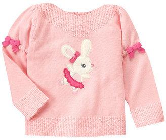 Gymboree Bow Ballerina Bunny Sweater