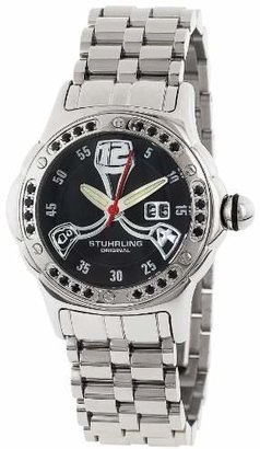 Stuhrling Original Women's 5ABS.121127 Champion Alpine La Femme Swiss Quartz Mother-Of-Pearl Date Dial Watch