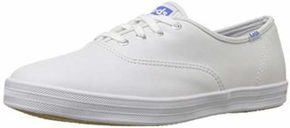 Keds Women's Champion Original Leather Sneaker $9.65 thestylecure.com