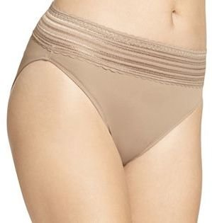 Warner's No Pinching. No Problems. Lace Hi-Cut Panty 5109J - Women's $11.50 thestylecure.com