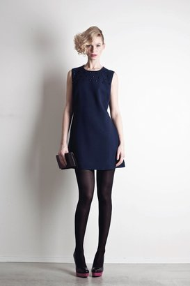Carnet de Mode Dress - HIGH SOCIETY - black