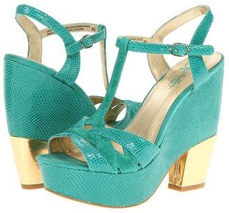 Seychelles Long Distance (Emerald) - Footwear