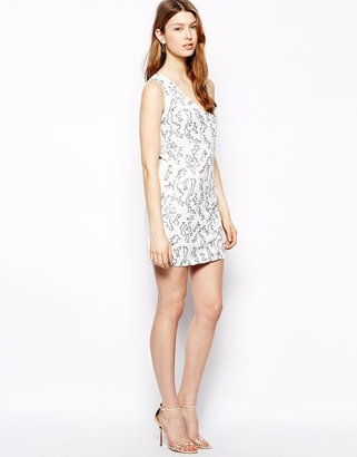 Pearl Sequin Effect Dress