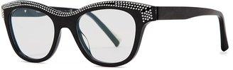 Alain Mikli Loulette Black Wayfarer-style Optical Glasses