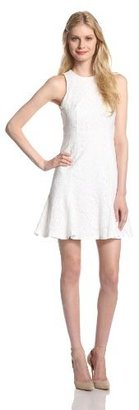 Cynthia Steffe CeCe by Women's Thea Floral Lace Sleeveless Dress