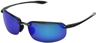 Maui Jim Ho'okipa (Gloss Black/Neutral Grey Lens) Sport Sunglasses