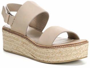 Vince Janet Classic Leather Platform Sandals