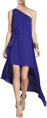 BCBGMAXAZRIA Margo One-Shoulder Dress