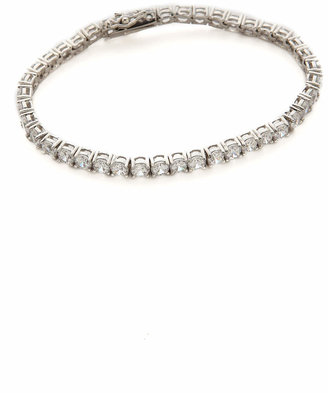 Kenneth Jay Lane Round CZ Tennis Bracelet $98 thestylecure.com