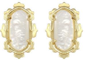 Kendra Scott Shina Stud Earrings, Mother-of-Pearl