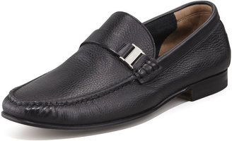 Bally Didi Unlined Deerskin Loafer