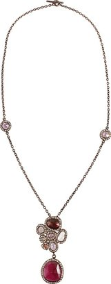 Yossi Harari Butterfly Cluster Necklace