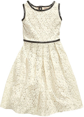 Speechless Girls Dress, Girls Sleeveless A-Line Lace Dress