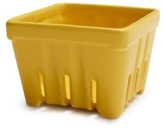 Sur La Table Lemon Stoneware Berry Basket