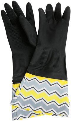 Waverly Washable Soft Fashion Cleaning Gloves - Rubber