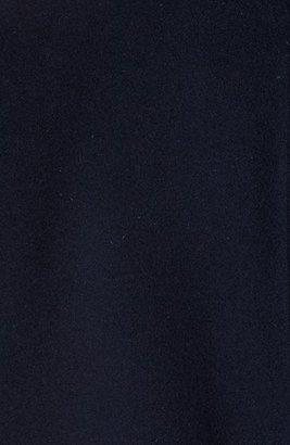 A.P.C. 'Teddy Rizzo II' Leather Sleeve Bomber Jacket