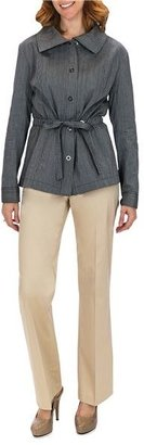Lafayette 148 New York Static Stripe Jacket - Stretch Cotton (For Women)