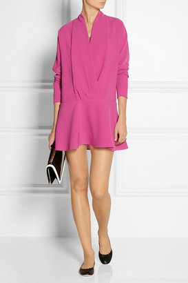 Thakoon Wrap-effect jersey-crepe dress