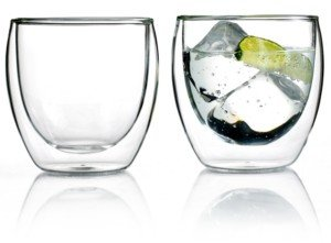 Bodum Pavina Set of 2 Double Walled 8.5 Oz. Glasses