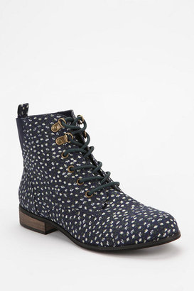 BDG Chelsea Printed Canvas Ankle Boot