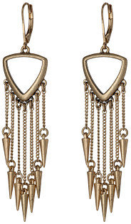 Sam Edelman Waterfall Spike Fringe Drop Earrings