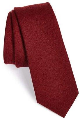 Men's The Tie Bar Wool & Silk Solid Tie $19 thestylecure.com