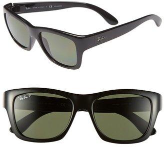 Ray-Ban 'Square Glam' 53mm Polarized Sunglasses