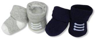 Carter's Hosiery Baby-Boys Newborn 2 Pack Booties Sneakers