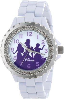 EWatchFactory Disney Women's W000498 Princess Enamel Sparkle Bracelet Watch
