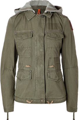 Parajumpers Army Cotton Rose Short Parka