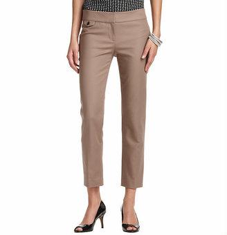 LOFT Zoe Ankle Pants in Doubleweave Cotton
