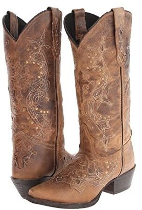 Laredo Cross Point (Brown Rust) Women's Boots