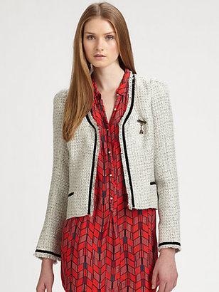 Maison Scotch Knit Jacket