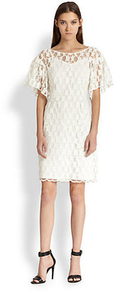 Tsumori Chisato Octopus-Patterned Lace Dress