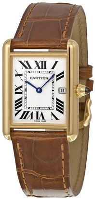 Cartier Tank Louis 18kt Yellow Gold Men's Watch