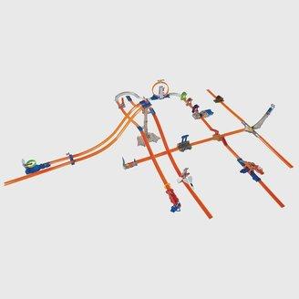 Hot Wheels track builder 5-lane tower starter set by mattel