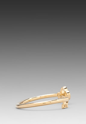 Juicy Couture Totally Secure Couture Frozen Key Bangle