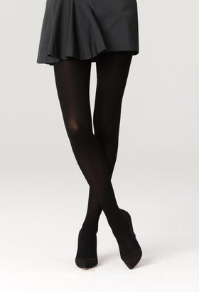 Milly Black Opaque Tights