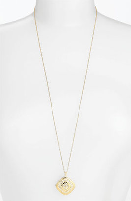 Anna Beck Anna Back 'Gili' Wire Rimmed Pendant Necklace (Nordstrom Exclusive)