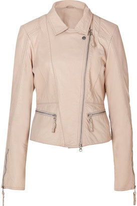 Dna Baby Pink Leather Viognier Jacket