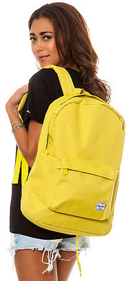 Herschel Supply The Classic Backpack in Lime Punch