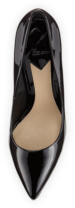 Brian Atwood B by Joelle Pointy-Toe Leather Pump, Black