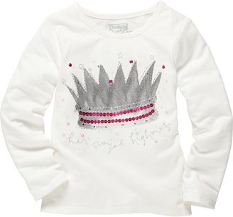 Osh Kosh Long-Sleeve Embellished Tee