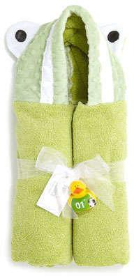 Swankie Blankie Hooded Frog Towel