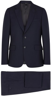 Paul Smith Soho Navy Slim-fit Wool Suit
