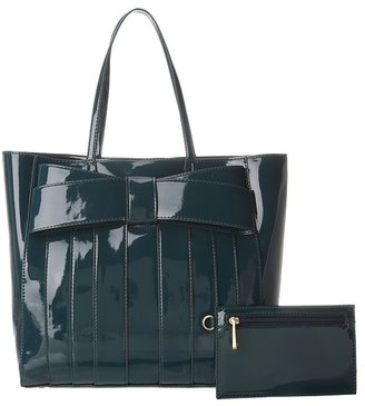 Zac Posen Shirley Bow Shopper (Eclipse) - Bags and Luggage