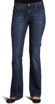 Calvin Klein Jeans Women's Petite Flare 5 Pocket Jean
